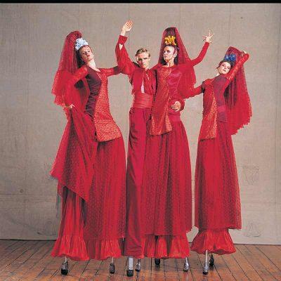 Flamenco Stilts