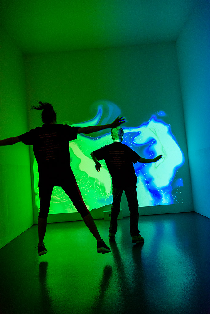 Interactive Light Installation