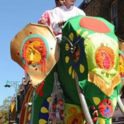 Lifesize Mechanical Elephant