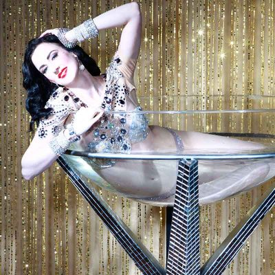 Dita Martini Glass