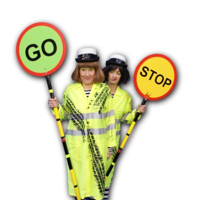 Festive Lollipop Ladies