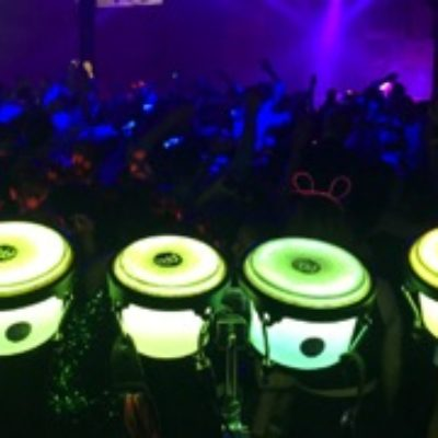 Illuminated Branded Drumming Show