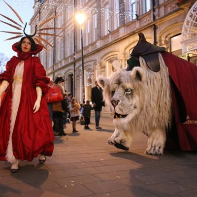 Snow Lion & Red Queen