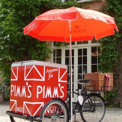 Ice Cream & Pimms Tricycle